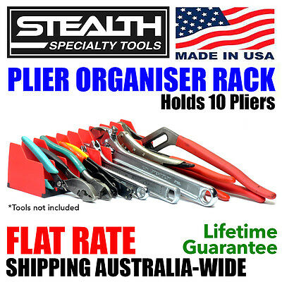 STEALTH SPECIALTY TOOLS Plier Organiser Rack Tool Storage Toolbox Drawer Pliers