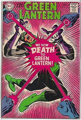 GREEN LANTERN # 64 Silver Age DC Comics October 1968