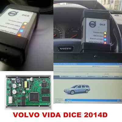 2017 Newest VIDA DICE 2014D for VOLVO Full Chip Scanner OBD2 Diagnostic Tool