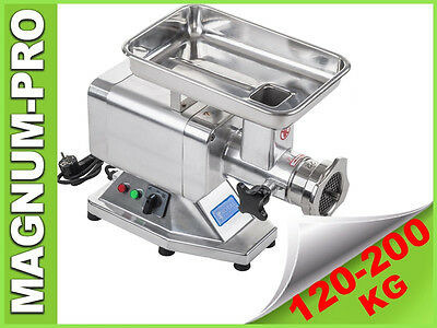 120Pro Electric Meat Mincer Grinder Commercial Stainless Steel 850W