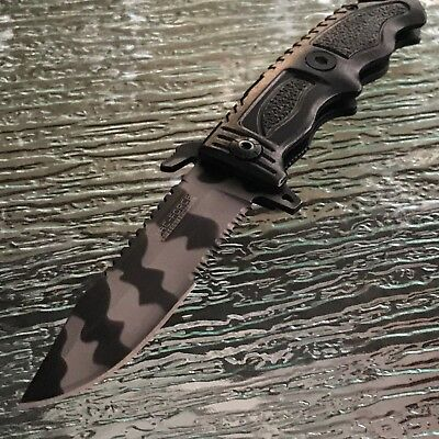 4 x TAC FORCE URBAN CAMO ASSISTED OPEN FOLDING KNIFE Pocket Assist Blade Switch