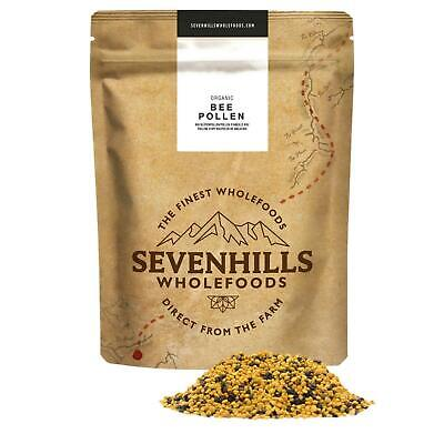 Organic Raw Bee Pollen | Immune System, Superfood - by Sevenhills Wholefoods