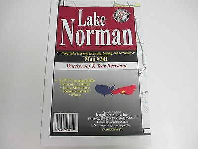 Kingfisher Map, Lake Norman, NC GPS Compatible, etc..