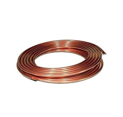 Copper Pipe Coil Water Tube Gas Central  Soft Tubing Microbore Heating Brake