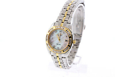 "Women's Citizen EW1594-55D Eco Drive ""Paladion"" Diamond Accented Two-Tone Watch"