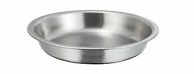 Winco 203-FP, Food Pan for 4-Quart Gold Accented Malibu Round Chafer 203