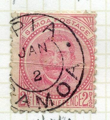 SAMOA;  1886-1900 early classic issue used 2.5d. value, SG 44