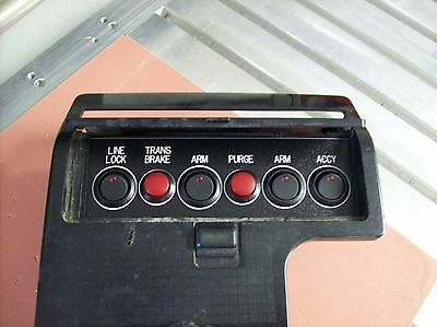 85-92 Firebird Trans Am Ash Tray Mounted Switch Panel Nitrous Oxide etc..