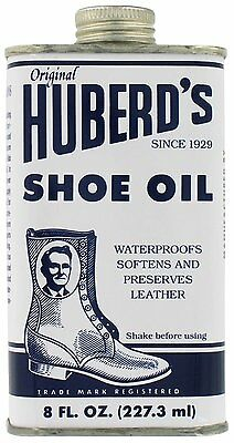 Huberd's Shoe Oil Leather Conditioner Protector 8 oz.