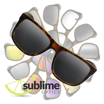 POLARIZED Black (Dark Grey) Replacement Lenses for Ray Ban RB4165 Justin 54mm