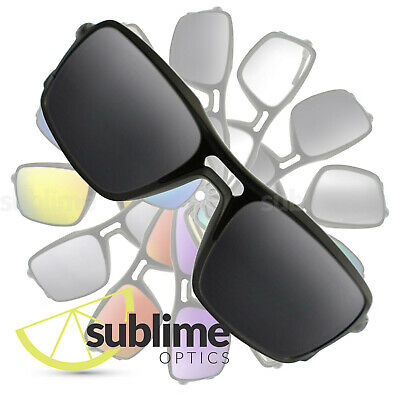 POLARIZED Black (Dark Grey) Replacement Lenses for Oakley Triggerman  ~ Charcoal