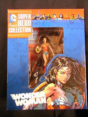 "Best Of Dc Super Hero Figurine Collection #3 ""wonder Woman"" (Eaglemoss) New!"