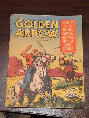 1942 Golden Arrow And The Mystery Of Lost City #11 Comic Book