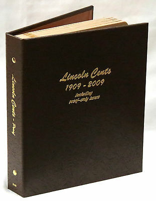 Dansco Coin Album 8100 Lincoln Cents 1909-2009S With Proofs