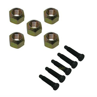 "5/8"" Wheel Stud 3-1/4"" Long Coarse Racing IMCA USTMS 5 Pack"