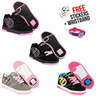 Girls Heelys Lace Up Roller Boots Propel 2.0, Girls Styles In All Sizes **HOTT**