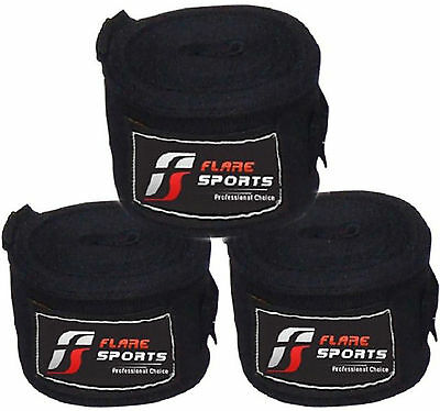 AZ New 4 and 4.5 meter Hand Wraps MMA Boxing Inner Gloves Wrist Protection-1537