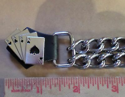 Aces & 8's vest extension motorcycle accessory biker clothing extender made USA