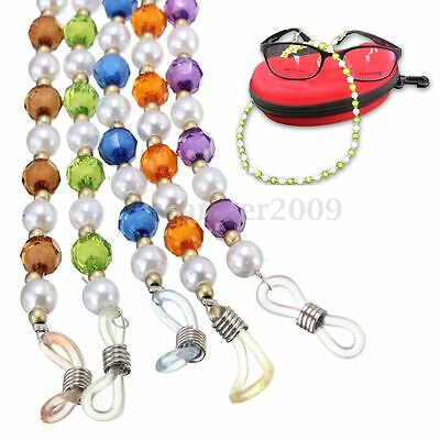 Glasses Beaded Neck Lanyard Cord Chain Strap For Spectacle Spectacles Sunglasses