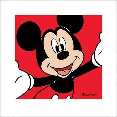 MICKEY MOUSE POSTER (40x40cm) DISNEY NEW LICENSED ART
