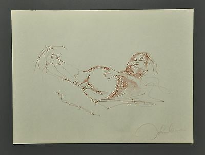 John Lennon & Yoko Ono 1970 Bag One Signed Erotic Lithograph 51x37cm Drawing Art