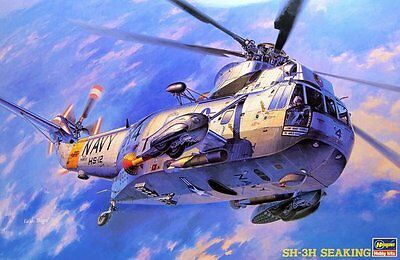 Hasegawa 1/48 SH3H Sea King Helicopter HSG7201