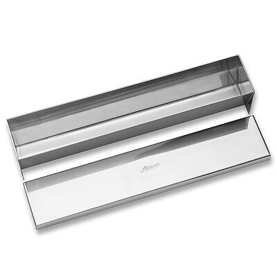 Ateco 4920, Rectangular Mold with Cover and Flat Bottom