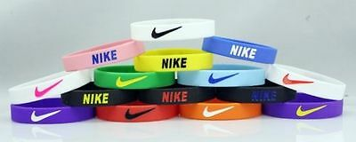 Nike 3D Sports Silicone Baller Wristband Bracelet With Swoosh Logo