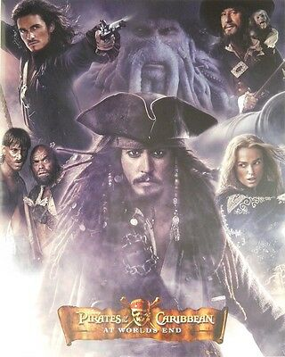 (LAMINATED) PIRATES OF THE CARIBBEAN POSTER (40x50cm) DEPP MOVIE NEW LICENSED AR
