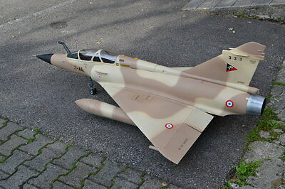 MIRAGE 2000 scratch build R/c Plane Plans 35 in. wing span DUCTED FAN POWER
