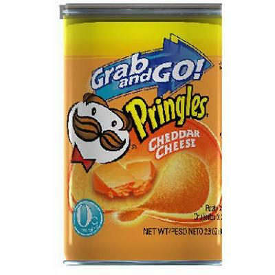Pringles 3800084561 71 Gram Cheddar Cheese Flavor Potato Crisps, Pack Of 12