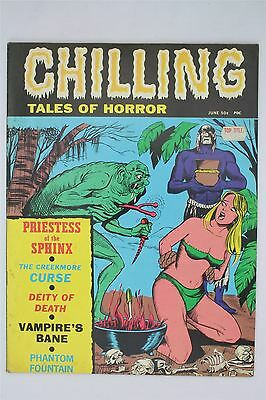 Chilling Tales Of Horror Vol 2 #4 June 1971 US Magazine Comic Book Stanley