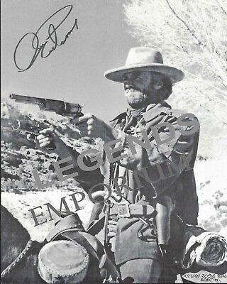 "Clint Eastwood - OUTLAW JOSIE WALES REPRINT 8""x10"" B&W Photo EAST-11"
