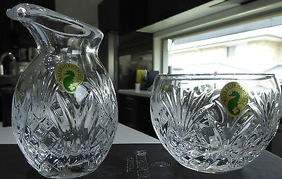 "Exquisite BNIB Waterford Crystal ""Pineapple"" Hospitality Suger & Creamer set"