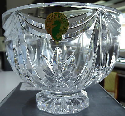 "Exquisite BNIB Waterford Crystal ""Pineapple"" Nut Bowl"