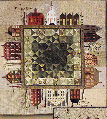 Quilted Village - fabulous Block of the Month quilt PATTERN - City Stitcher