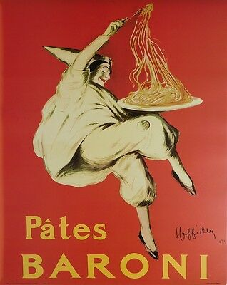 (LAMINATED) Pates Baroni 1921 POSTER (40x50cm) Vintage Travel New Licensed Art