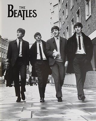 THE BEATLES WALKING POSTER (40x50cm) GROUP NEW LICENSED ART