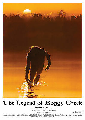 The Legend of Boggy Creek (1972) - A1/A2 Poster *BUY ANY 2 AND GET 1 FREE OFFER*