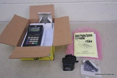 Lrs Long Range Systems Guest Paging System T7400