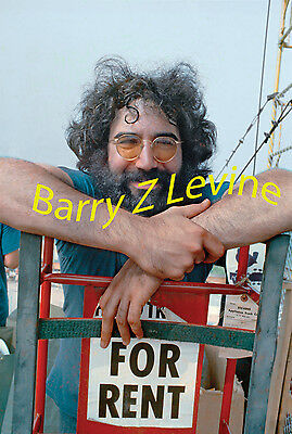Jerry Garcia at Woodstock Photo ©Barry Z Levine Color print from digital image
