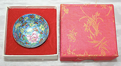 Antique Vintage Exquisite Miniature Porcelain Bowl Signed Chinese Characters