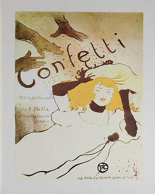 (LAMINATED) Confetti POSTER (40x50cm) French Vintage New Licensed Art