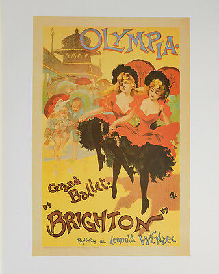 OLYMPIA GRAND BALLET POSTER (40x50cm) VINTAGE NEW LICENSED ART