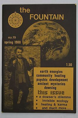 The Fountain #19 Spring 1988 UK Magazine Healing Karma Dowsing Occult Psychic