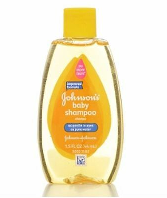 JOHNSON'S Baby Shampoo 1.50 oz (Pack of 3)