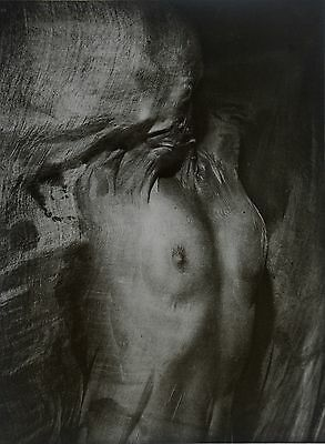 Erwin Blumenfeld Ltd Ed. Photo Heliogravure 30x40 Nude under wet silk Paris 1937