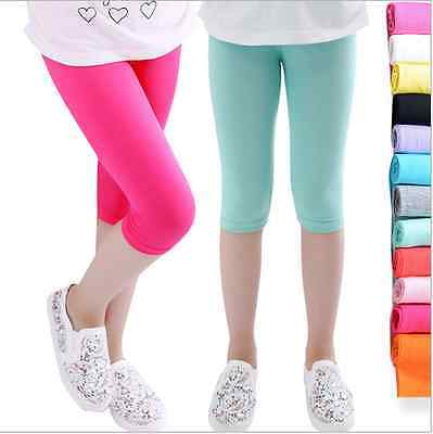 Lovely Toddler Kids Girls Baby Cotton Pants Stretch Warm Leggings Trousers