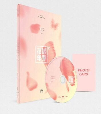 BTS-[IN THE MOOD FOR LOVE] PT.2 4th Mini Album Peach Version CD+Book+Card Sealed