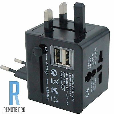 Universal International/World/Travel Adapter/Converter Plug Power US/UK/AU/EU/HK